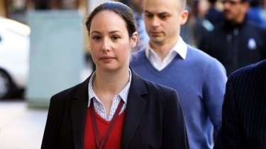 Detective Denise Vavayis arrives at the coronial inquest into the Lindt cafe siege.