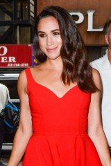 """Meghan Markle was """"abused and harrassed"""" by the British press."""