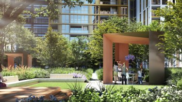 At Mirvac's new development at Olympic Park, 60 apartments will be offered first to first home buyers.