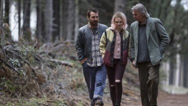 Ewen Leslie, Odessa Young and Sam Neill in <i>The Daughter</i>. Simon Stone has set Henrik Ibsen's <em>The Wild Duck</em> in an Australian timber town.