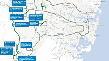 Upgrading Western Sydney Roads: Round two of the Local Roads Package.