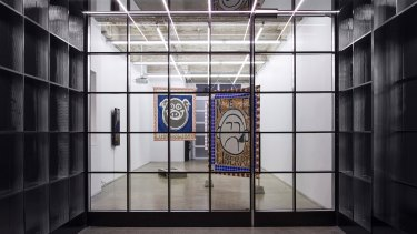 SIBLING Architecture's Gertrude Glasshouse. The artist behind the artwork shown in the image is Tully Moore.