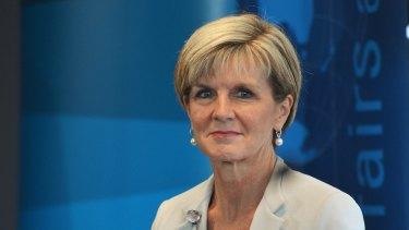 Foreign Affairs Minister Julie Bishop will visit Tehran in April.