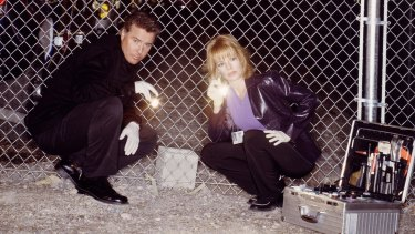 Gil Grissom (William Petersen) and Catherine Willows (Marg Helgenberger) are back as central characters in the finale, Immortality.