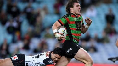 Outta here: Angus Crichton has defected to rivals Sydney Roosters.