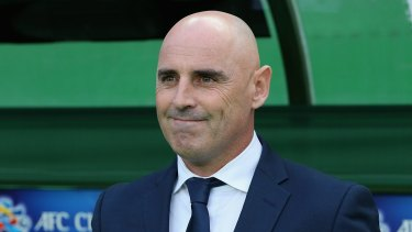 Disappointed: Melbourne Victory coach Kevin Muscat.
