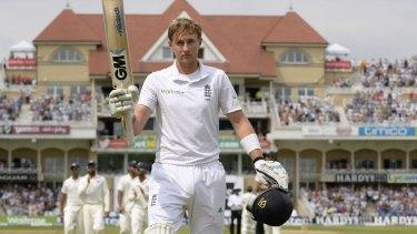 England vice-captain Joe Root.