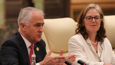 Minister Malcolm Turnbull said it was a lot easier for Chinese companies to invest in Australia than Australian companies to invest in China.