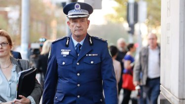Deputy Commissioner for Investigations and Counter Terrorism Dave Hudson.
