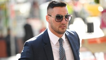 Salim Mehajer outside the Downing Centre Local Court on Wednesday