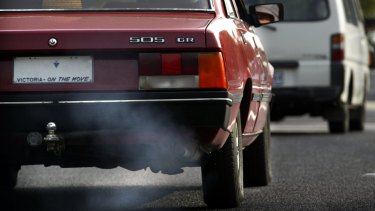 Energy emissions, including from cars, is on the rise.