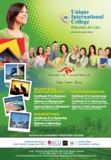 Advertising for Unique International College
