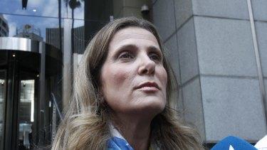 Former HSU secretary Kathy Jackson.