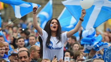 Less than two years after voting no to independence, Scottish voters may get a second chance.