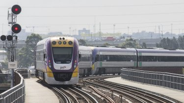 V/Line's VLocity train wheel wear problem may have impacted tracks used by Metro trains.