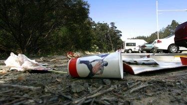 Roadside litter is a growing problem.