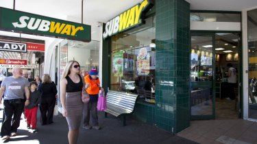Subway has seen a dramatic drop in profits in the US.