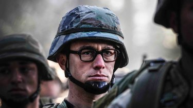 Joseph Gordon Levitt in <i>Snowden</i>: Oliver Stone considers it an important film for seeking to tell the truth about the US intelligence whistleblower.