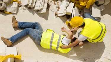 The number of injured workers making claims for compensation has fallen dramatically.