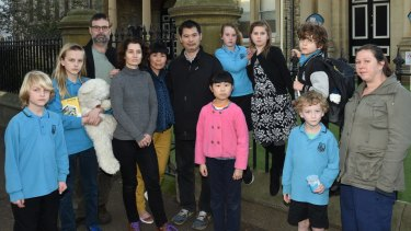 Students and parents at Bourke Street Public School are concerned about a possible merger.