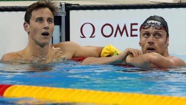 Seventh in the final: Cameron McEvoy.