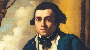 Portrait of William Bligh c.1776, by John Webber.