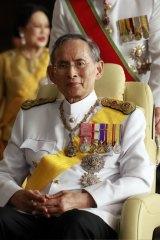 Thailand's King Bhumibol Adulyadej.