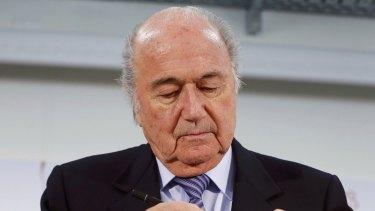 Sepp Blatter has announced he will resign as FIFA president.