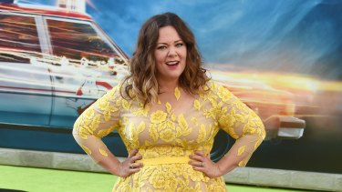Melissa McCarthy at the premiere of Ghostbusters.