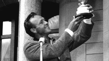 Arnold Palmer was known as the King.