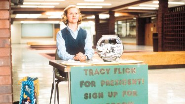Tracy Flick on the hustings in Election.