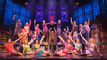 The feel-good musical <i>Kinky Boots</i> has been well received by critics.