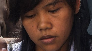 Mary Jane Veloso in March, before her eleventh hour reprieve.