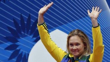 Olympic gold medallist Kylie Palmer.