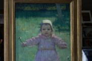 Tom Roberts' She Oak and Sunlight, with Young Girl by Iso Rae