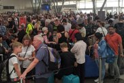 delays at jetstar terminal sydney airport