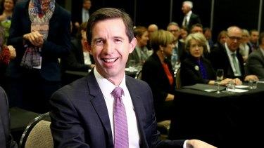 """""""The opportunity is here right now to seize the chance on positive reform"""": Simon Birmingham."""