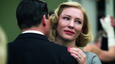 Oscar contender again: Cate Blanchett in the Todd Haynes romance Carol.