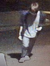 CCTV footage shows Byeongjum Kim walking along Jones Bay Road in Pyrmont.