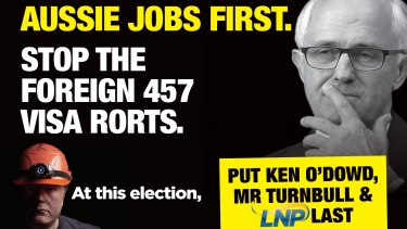 """Labor has resurrected its """"Aussie Jobs First"""" campaign, while the government has followed with its own announcement on changes to the program."""
