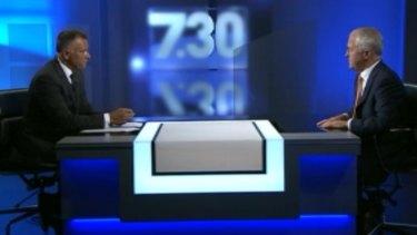 The donation amount was revealed on the ABC's <i>7.30</i> on Wednesday.