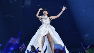 Dami Im's stunning performance landed her in second place at the Eurovision Song Contest.