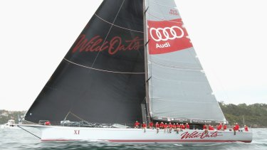 Wild Oats XI's damaged mainsail forced it out of this year's event.