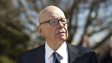 Rupert Murdoch's News Corp is seeing growth in digital advertising while that in print remains challenged.