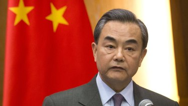 China's Ministry for Foreign Affairs, led by Foreign Minister Wang Yi, had some stern words of advice for Julie Bishop over how Australia handles China's territorial claim in the South China Sea.