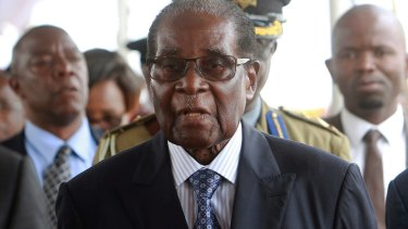 Robert Mugabe ruled Zimbabwe for 37 years with the support of the military.