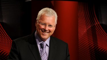 Frontbencher ban remains: <I>Q&A</i> host Tony Jones.