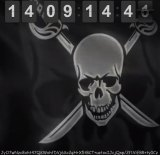 Reverse countdown: A digital clock at thepiratebay.se marks the amount of time since The Pirate Bay has been out of action.