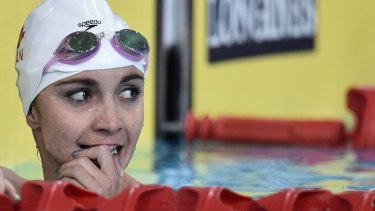 Anxious wait: Audrey Lacroix waited 10 Commonwealth Games, Olympic Games and world championships to win a medal.