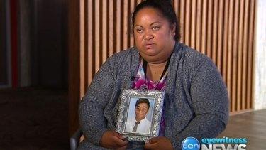 Sandra Tamano spoke of her anguish earlier in the week.